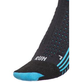 X-Bionic Effektor xbs.running - Chaussettes course à pied Femme - Short noir/turquoise